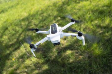 Letání s dronem Hubsan Zino