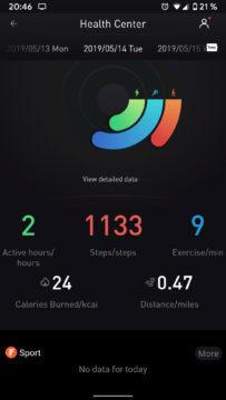 Mobvoi aplikace centrum fitness