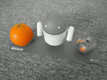 Moto G7 Power fotografie režim pomeranč