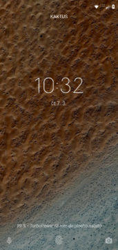 Moto G7 Power system Android zamykaci obrazovka