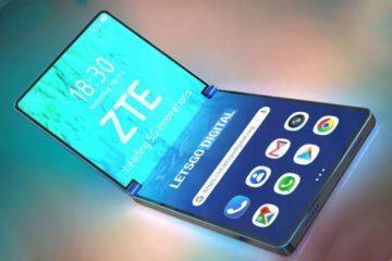 Ohebný telefon v pojetí ZTE
