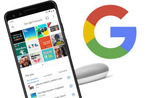 podcasty google na webu