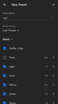 presets lightroom mobile