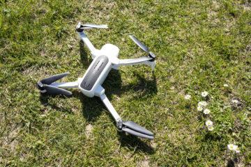 přistání s dronem Hubsan Zino