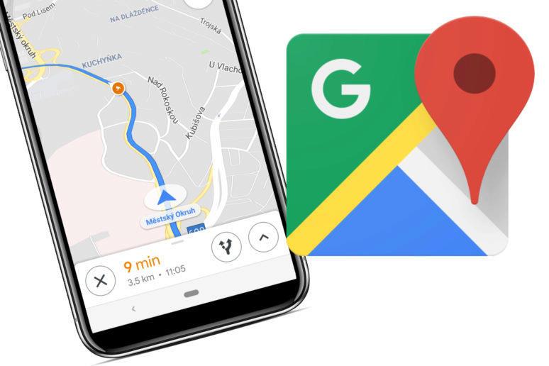 radary v google mapach