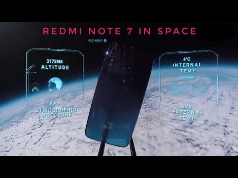 Redmi Note 7 In Space For Photography and Durability Test