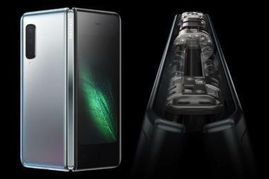 samsung galaxy fold problemy ohebny telefon reseni