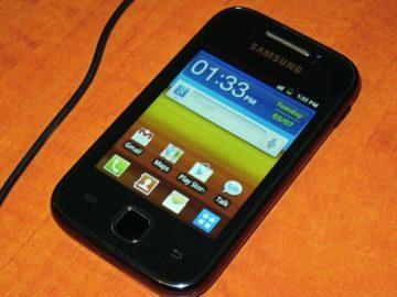 samsung galaxy telefon s Androidem 2.3.7
