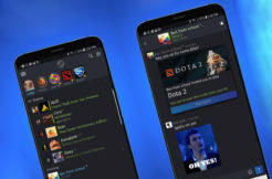 steam chat aplikace android ios