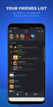 Steam Chat seznam přátel