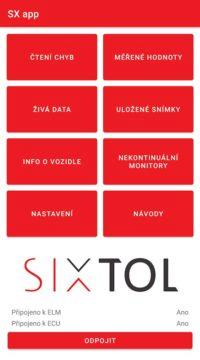 SX OBD - česká autodiagnostika