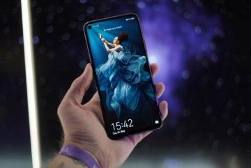 Telefon Honor 20 Pro displej