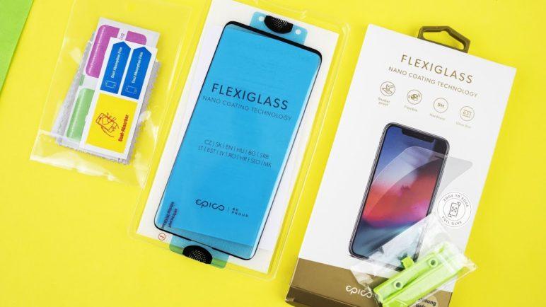 Test ochranného skla 🔹 Samsung Galaxy S10 Plus