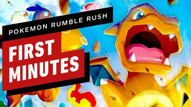 The First 15 Minutes of Pokemon Rumble Rush Gameplay
