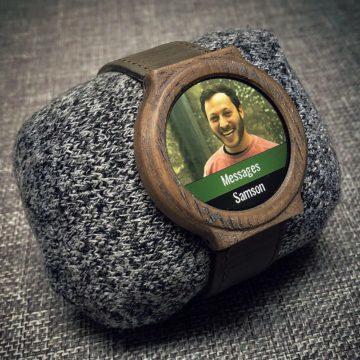 Vlastni chytre hodinky design