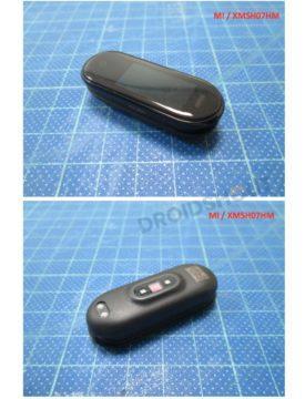 Xiaomi Mi Band 4 design