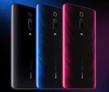 Xiaomi Redmi k20 Pro vzhled