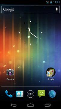 Android 4.0 přinesl Holo UI