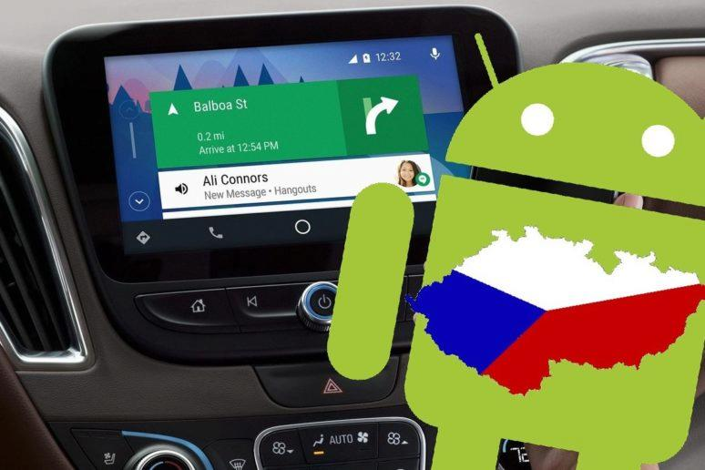 Android Auto - čeština