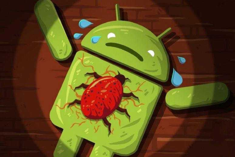 Android telefony v ohrožení - vir Triada