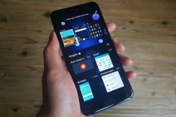 Android widgety - iOS nemá