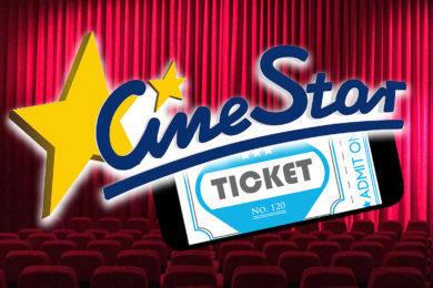Aplikace CineStar rezervace a vstupenky