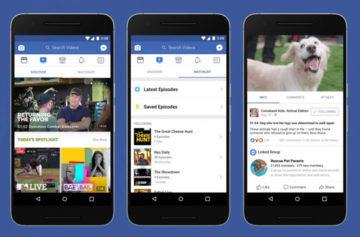 Aplikace Facebook Huawei