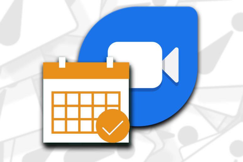 Aplikace Google Duo plánování hovorů