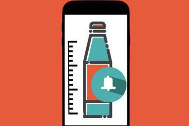aplikace pro spravny pitny rezim
