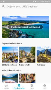 Aplikace skyscanner tipy na dovolenou