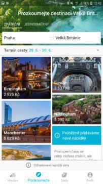 Aplikace skyscanner tipy na výlety