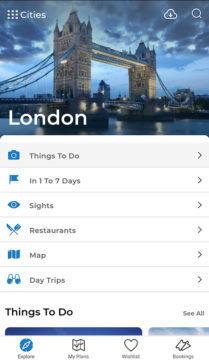 aplikace visit a city tipy na výlet