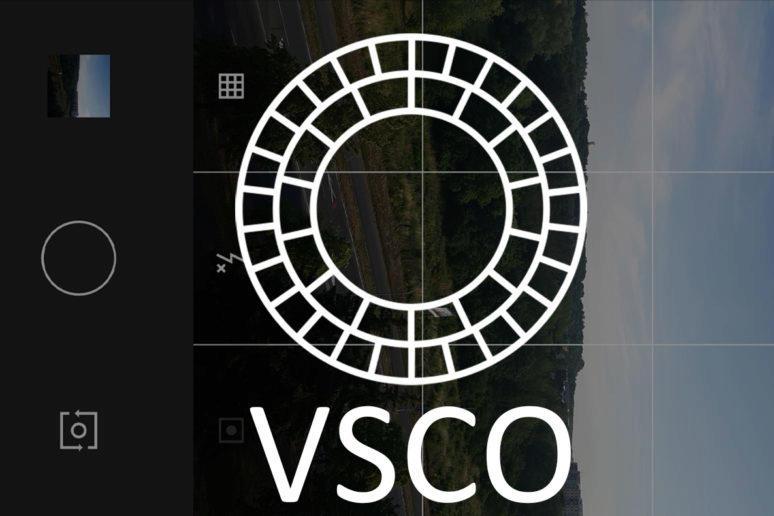 Aplikace VSCO fotoaparát filtry