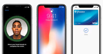 apple iphone face id odemykani oblicejem
