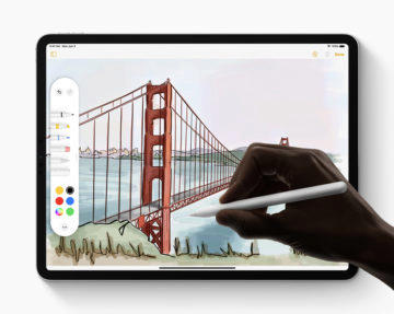 iPadOS Apple pencil