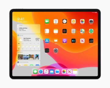 iPadOS widgety