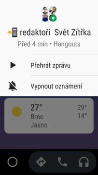 Auto Android - zprávy