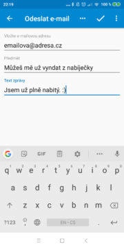 Automatizace Android telefonu - Přehrát zvuk po nabití 04