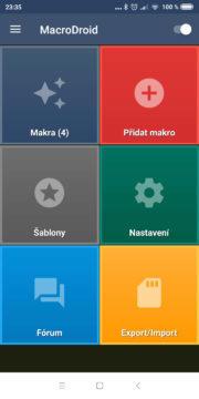 Automatizace Androidu - MacroDroid 01