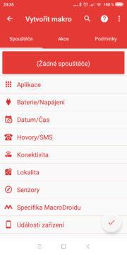 Automatizace Androidu - MacroDroid 02
