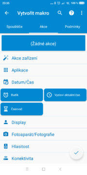 Automatizace Androidu - MacroDroid 03