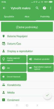 Automatizace Androidu - MacroDroid 04