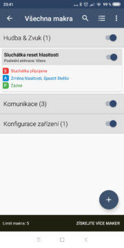 Automatizace Androidu - MacroDroid 05