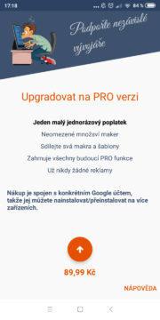 Automatizace Androidu - MacroDroid 08