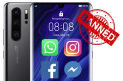 Facebook končí na mobilech Huawei