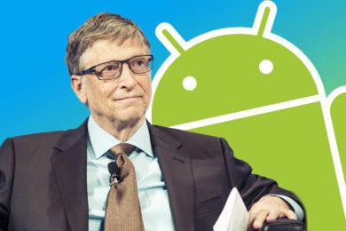 Bill Gates nechal Android vyhrát
