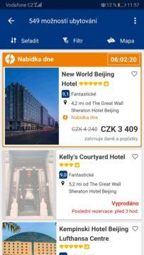 Booking hotel - Mapy.cz