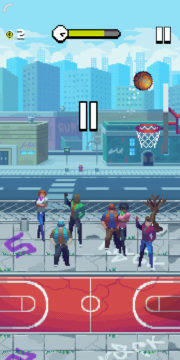 Bouncy Hoops - Android hra 01