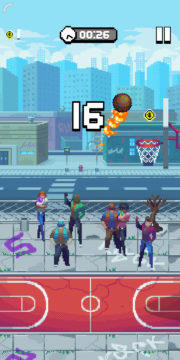 Bouncy Hoops - Android hra 03