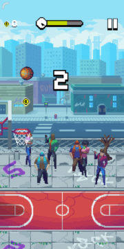 Bouncy Hoops - Android hra 07